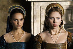 Portman and Johansson: The actors tremble with inner life. Top: Bana as Henry, with groovy abs.