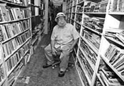 Rod Cronk, owner of All Books & Records in Fort Lauderdale, is closing shop after nearly three decades.