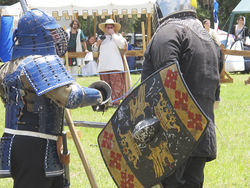 Lord Takamatsu, a past finalist in the  crown tournament.