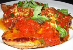 SoLita&#039;s chicken parm.