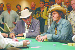 Dennis Farina and Woody Harrelson could be contenders at the felt-covered table.
