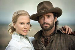 Kidman and Jackman: Snooty Brit goes all Outback.