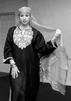 Indian fashions are on display this Sunday