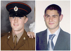 Mark Quinsey, 23, and Patrick  Azimkar, 21, were killed in March by the Real IRA.