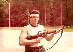 "Joaquin ""Jack"" Garcia at the FBI Academy in 1980."