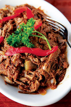 Don Arturo&#039;s Ropa Vieja.