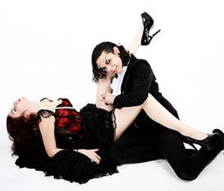 Models: Chloe Boulanger and Gino Suarez of Cabaret Vampyra