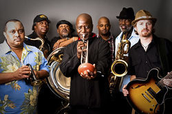 7/12 of the Dirty Dozen Brass Band.
