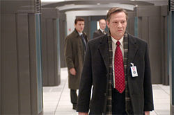 Cooper plays a certified bad man, FBI spy Robert Hanssen.
