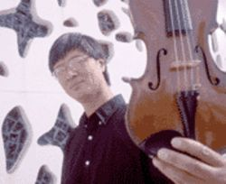 When not performing or practicing, violinist Yang Xi 