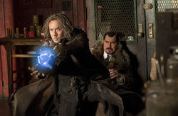 Nic Cage and Alfred Molina in The Sorcerer's Apprentice.