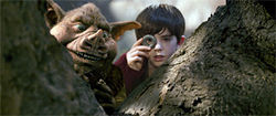When Jared and Simon (Freddie Highmore) get peeved, goblins come out.