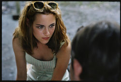 Kristen Stewart in On The Road.