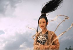 Chen Hong as Goddess Manshen