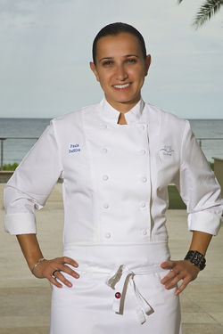 3030 Ocean's Paula DaSilva, our number one chef.