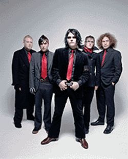 My Chemical Romance is gonna sweat like hell dressed like that.