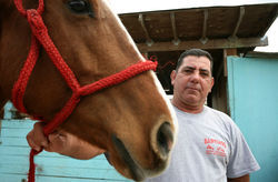 Luis Rodriguez had horses for himself, his daughter, and his grandson on his C-9 Basin ranch until county, state, and federal regulators forced him out.