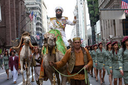 Admiral General Aladeen loves a parade.