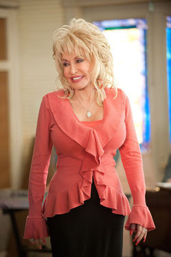 Dolly Parton as church benefactor G.G.