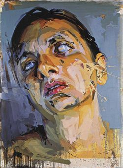 Atonement Studies-Panello by Jenny Saville.