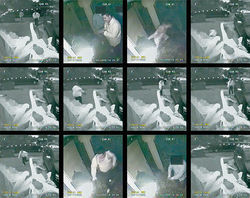 An eerie security camera sequence documents the execution of Oscar Torres.
