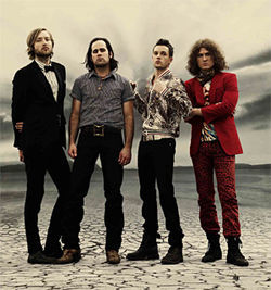 The Killers do their best Led Zep impression.