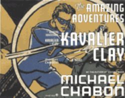 The cover of Chabon's book, featuring The Escapist, is a homage to the first issue of Captain America Comics.