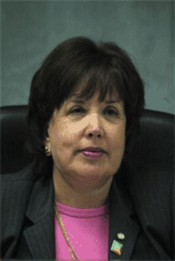 Mayor Mara Giulianti sees certain questions as &quot;harrassment.&quot;