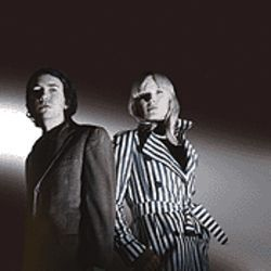 Great Danes: Sune Rose Wagner (left) and Sharin Foo of the Raveonettes