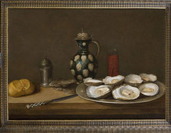Adriaenssen's Still Life With Oysters.