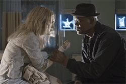 Samuel L. Jackson begs Julianne Moore to stop the wailing.