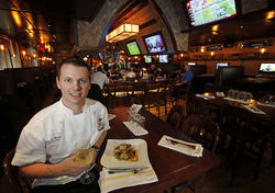 Executive chef Stanton Bundy's menu showcases classic American comfort fare. View a slideshow of the Royal Pig.