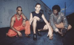The Full Moon Project (left to right): Bobby Thomas Jr., Felix Pastorius, and Ben Broomfield