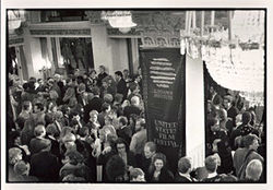 "Opening night of the 1989 ""Sundance"" Film Festival."