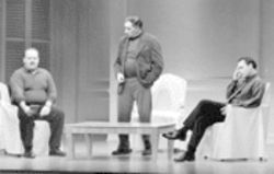 Friends Jack Willis, Judd Hirsch, and Cotter Smith find breaking up hard to do