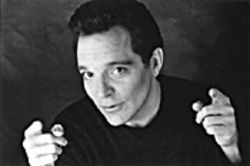 Richard Jeni heads out for an evening at the Improv.