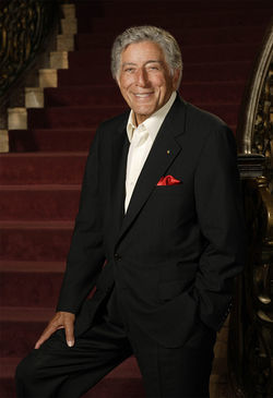 Tony Bennett, &quot;the blessed one.&quot;