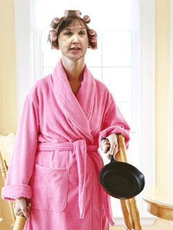 """Don't make me come after you with this frying pan, Oliveri."""