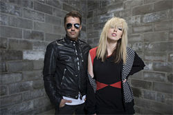 The Ting Tings come to sing sings.