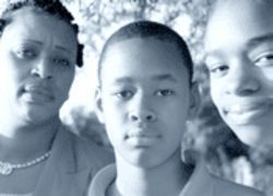 Yvette Smith withdrew her children Joseph and Sugar from Apollo after another student shoved a pencil up Joseph's nose