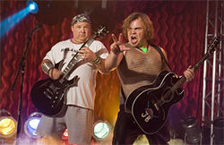 Tenacious D: Two men, four chins. Give or take.