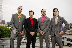Weezer: They do dress a bit like Buddy Holly.