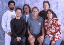 Year of the rat: Jay Lane, Kenny Brooks, Jeff Chimenti, Bob Weir, Rob Wasserman, and Mark Karan are Ratdog