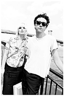 Sending out Dane waves: Sune Rose Wagner and Sharin Foo of the Raveonettes