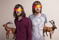 If these guys had a tattoo, would that make it a Ratatat tat?