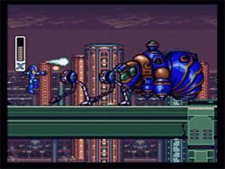 If Mega Man had beaten Pesticide Man and gotten the Raid Blaster, he might have stood a fighting chance.